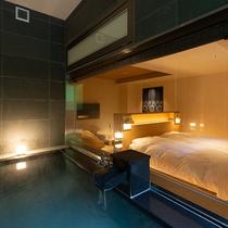 露天風呂付和洋室 椿