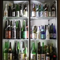 入手困難な限定品ばかりの新潟地酒のラインナップ。