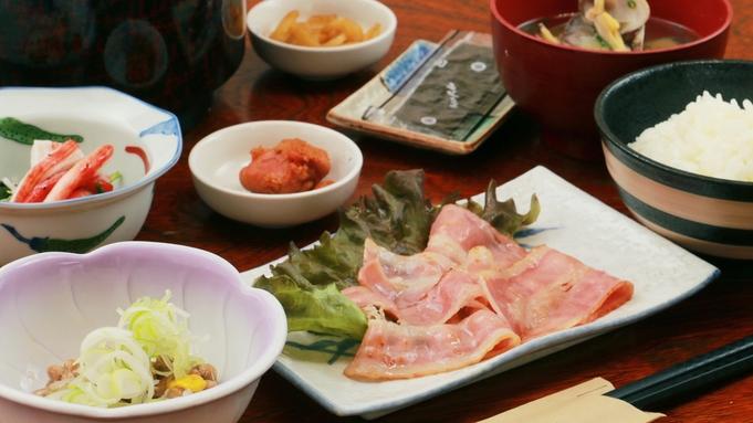 【朝食付】しっかり朝ごはんを食べよう!日替り定食☆Wi-Fi完備