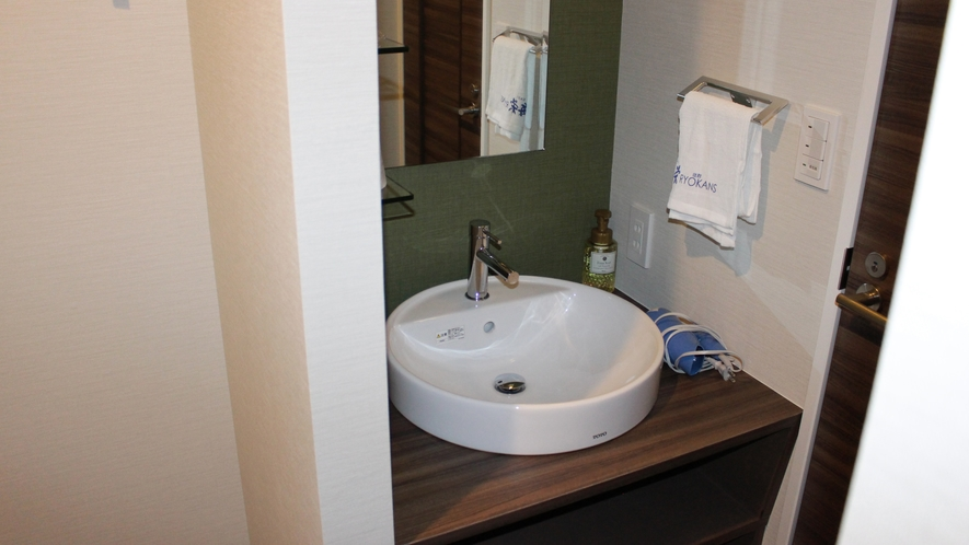 シングルルーム「洗面台」