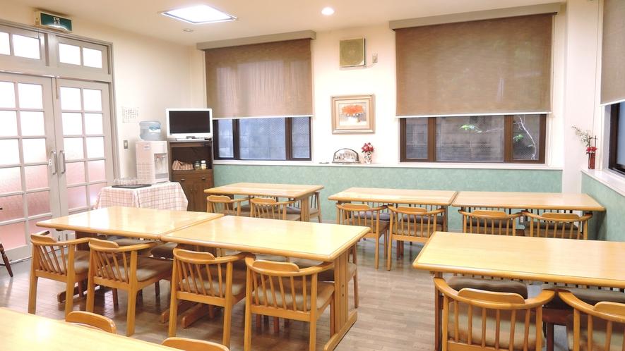 *【食堂】お食事はこちらでお召し上がりください。