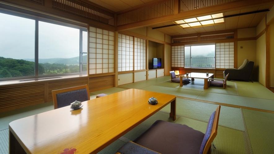 【飛燕閣】和室特別室 約22畳の広々とした二間つづきの和室