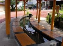 日帰り温泉楓の湯 長野電鉄湯田中駅隣接 足湯もあります。車で10分です。