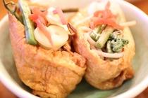 【夕食の一例】北信州郷土料理 そばいなり