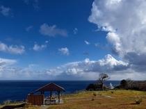 岬の灯台から観える景色*。