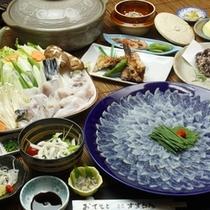 彩り豊かに【三大饗宴】プランのお料理です。