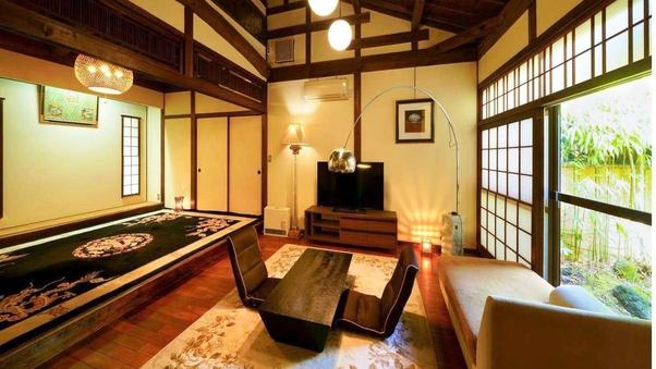 ●優遊覚苑(ゆうゆうかくえん):和6+洋8の2間離れ/岩風呂