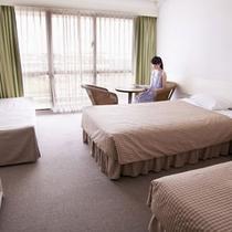 *【デラックスツイン/ノースタワー】30㎡〜34㎡で広々快適な客室