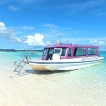 *【はての浜】泊フィッシャリーナから船で約20分で南の島の楽園へ