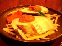銀鱈の陶板焼き