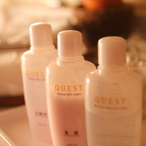 大手化粧品メーカーの化粧水のご用意もございます。