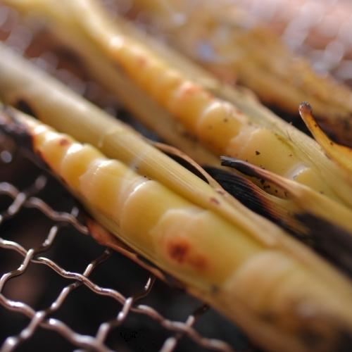 【信州ふ−ど】とっても貴重な志賀高原産根曲がり竹はしゃきしゃきの食感がたまりません!