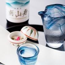地元の日本酒を片手にお料理を頂く幸せ!