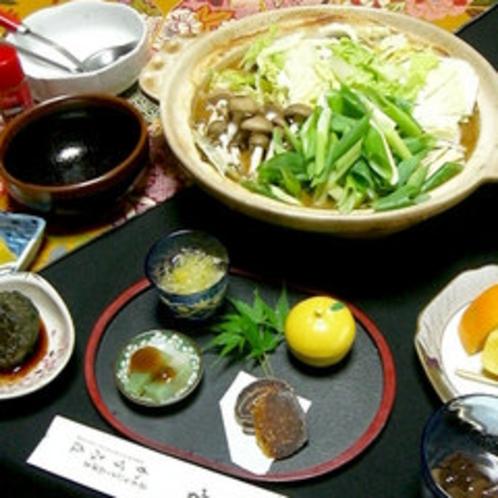 ■天然しし鍋コース(一例) ■