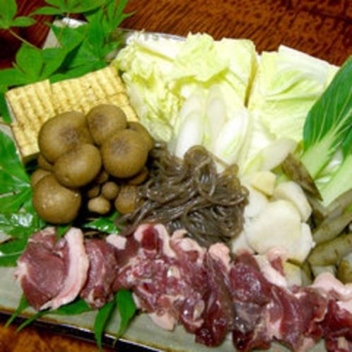 ■天然しし鍋(一例)■