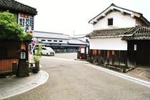豆田町入り口