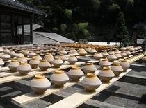 小鹿田焼き