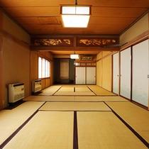 1階には20畳の大広間があります。様々な用途に使えますので、ご予約の際にお気軽にご相談ください。