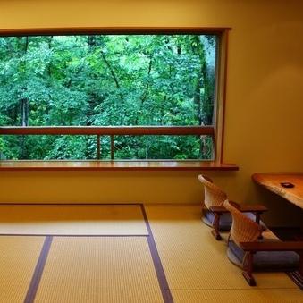 森に囲まれたワンランク上の客室・禁煙(白翁棟/日本の色棟)