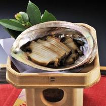 ■地鮑味噌炊き