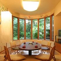 ■森のうさぎ棟「長七うさぎ」談話室