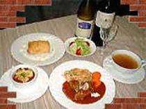 洋風コース料理 夕食
