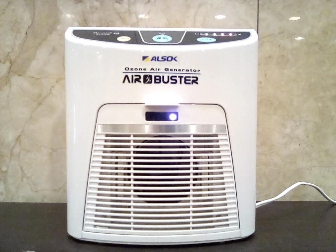 オゾンの力でウイルスを強力に分解する「AIR BUSTER エアバスター」を導入