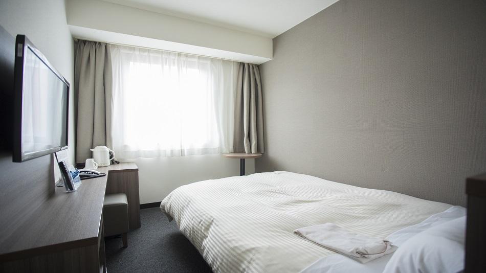 禁煙シングルルーム(広さ11m2/ベッド幅130cm)