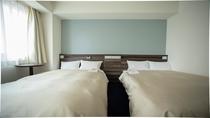 ツインルーム 2つのベッドをくっつけた『ハリウッドツイン』対応が可能です