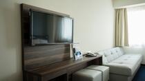 ツインルーム ソファベッドで3名様のご利用が可能です【ご希望の方は直接ホテルへお問い合わせください】
