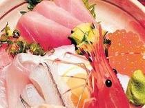 自慢の海鮮丼です。