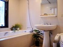 スタンダードルーム バスルームの一例