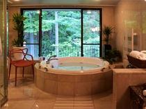 ジュニアスイートルーム バスルームの一例
