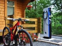 EV 充電スタンド