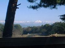 リビング窓昼風景