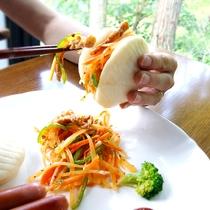 台湾サンド食べ方