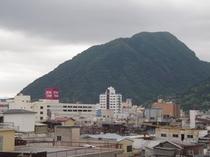 アークインから見るyoumeタウンと高崎山