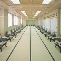 【宴会場】分割可能な畳の宴会場は60名様まで対応可能