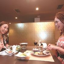 【夕食はレストランで】