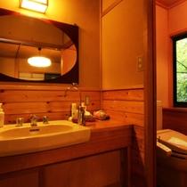 洗面トイレ(杉)
