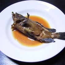 季節の魚の煮付け