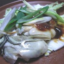 牡蠣陶板焼