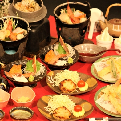【釜飯御膳♪2食付きプラン】*海鮮コース*