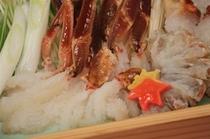 蟹しゃぶ(イメージ)
