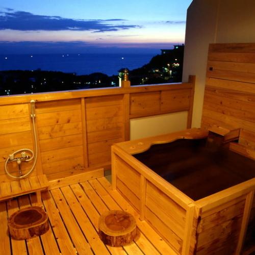 【お風呂】客室露天風呂