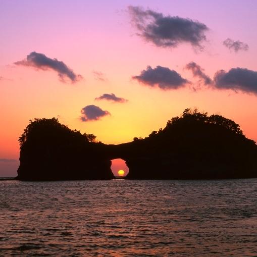 【周辺観光】円月島