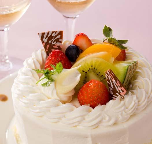 【サービス】バースデーケーキ