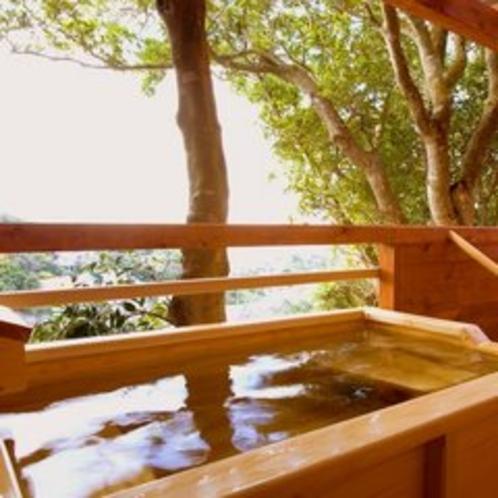 【お風呂】別荘Aタイプ/露天風呂