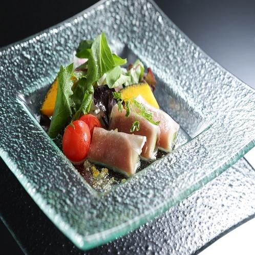 【夕食】季節の洋皿