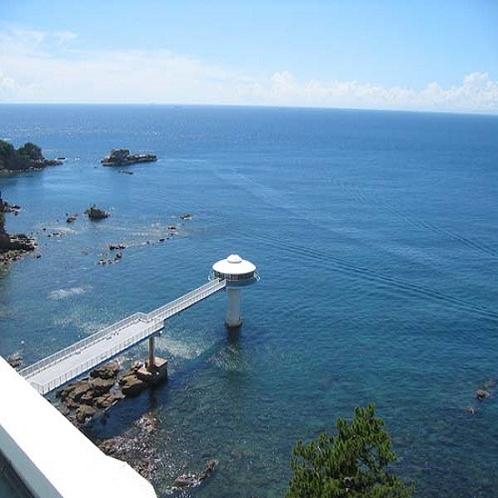 【周辺情報】海中展望塔